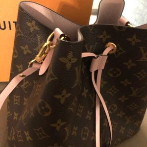 Louis Vuitton Bags - BRAND NEW Baby Pink and Brown Louis Vuitton.